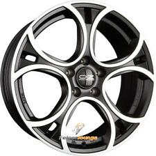 4 Cerchi in lega OZ WAVE MATT BLACK DIAMOND CUT 7x16 et45 5x108 75 NUOVO