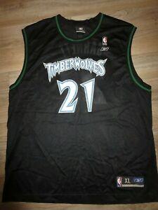 Kevin Garnett #21 Minnesota Timberwolves Reebok NBA Jersey XL mens