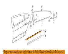 VW VOLKSWAGEN OEM 06-10 Passat Exterior-Rear-Side Molding Left 3C0853753C2ZZ