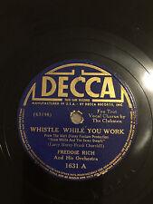 Grammophone United 90 Jahre Altes Decca Junior Portable Grammophon Funktionell Im Guten Zustand