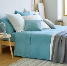 RRP £109 100% Linen WASHED LINEN DUVET COVER DOUBLE Pure Linen Bedding Zara Home