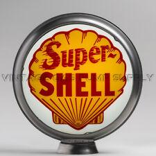 """Texaco Diesel Chief 13.5/"""" Gas Pump Globe w// Red Plastic Body G193"""