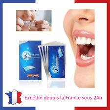 28 Bandes Strips pour Blanchiment Dentaire Dents Blanches Bandelette Menthe