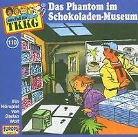 110/das Phantom im Schokoladenmuseum von Tkkg 110 | CD | Zustand gut
