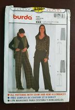 Burda-8756 Pants Sewing Pattern Size 10 to Plus Size 20 UC
