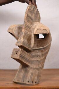 African tribal art, Songye  mask  from Democratic Republic of Congo