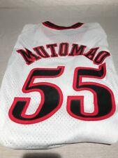 MENS DIKEMBE MUTOMBO #55 PHILADELPHIA 76ers RETRO WHITE Nike Swingman XXL