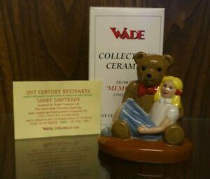 Wade Ceramics 'Looby Loo/Teddy' Limited Edition Figurine in Original Box