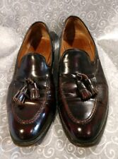 Royal Tweed Cheaney of England Church's English Shoes Tassel Loafers Sz. 13 E