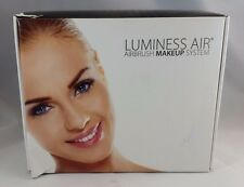 Luminess Air Aqua & White Legend Airbrush System with 5-Piece Deluxe Airbrush Fo