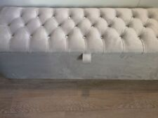 """NEW OTTOMAN PLUSH CHESTERFIELD STORAGE BOX HIGH QUALITY EXTRA LARGE 60"""" INCH"""