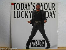 """★★ 12"""" Maxi - NAPOLEON MC - Today´s Your Lucky Day (Lucky Mix) 6:12 min - BCM"""