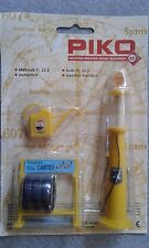 PIKO G Gauge Old Fashion Shell Petrol Pump and Accessories #62284 ~ TS