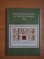 Jahrbuch Sonderpostwertzeichen der Deutschen Bundespost 1982, sehr guter Zust.