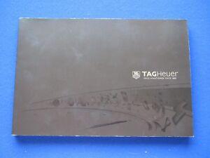 Tag Heuer wristwatch catalogue 2011 - 2012  softback