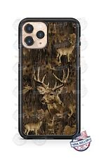 Wild Deer Hunting Camo Phone Case Cover For iPhone 11Pro Samsung LG Google 4XL