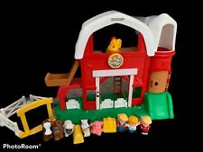 LITTLE PEOPLE FARM LOT PLAYSET FIGURES ANIMALS TRACTOR BARN FISHER PRICE