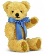 New - Merrythought London Curly Gold Teddy Bear - Made in England