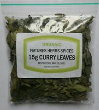 15g Curry Leaves Organic Premium Herb A Grade Quality