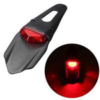 Universal Motorcycle Enduro LED Rear Fender Stop Brake Light For CRF KTM Red
