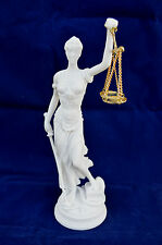 Themis Alabaster sculpture statue Goddess of Justice artifact