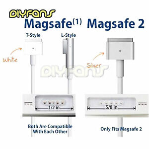 45/60/85W Magsafe1&2 L/T-Tip Cable AC-Power Adapter DC Cord für Macbook Pro AHS
