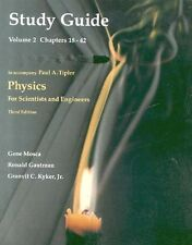Study Guide Volume 2 To Accompany Paul A. Tipler Physics (Third Edition)