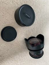 Samyang 14mm VDSLR Lens for Canon Camera T3.1 - Never Used - Perfect Condition