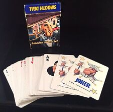 JOE CAMEL CIGARETTE COOL SMOOTH PLAYER 1989 PLAYING CARDS - ADVERTISING TOBACCO
