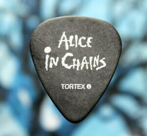 ALICE IN CHAINS // Mike Inez 2006 Tour Guitar Pick // ozzy black label society