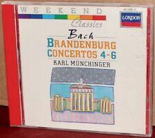 LONDON CD 421-028-2: Bach: Brandenburg Concertos 4-6 / Münchinger - 1989, CANADA