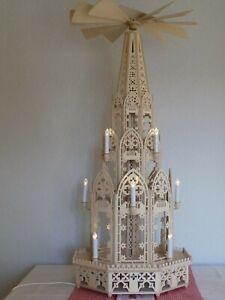 """Weihnachtspyramide """"Kathedrale 118 cm, 8 Eck elektrisch"""""""