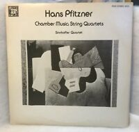 Vintage Hans Pfitzner - Chamber Music String Quartets - Vinyl LP