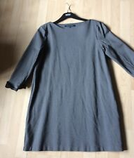 french conection grey jersey dress size XL/ 16