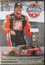 2007 Brickyard 400 Commemorative DVD Tony Stewart Wins! Allstate Home Depot New