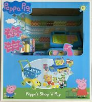 Peppa Pig Cash Register and Shopping Trolley Playset