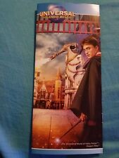Harry Potter, Universal Studios Brochure, Booklet, Orlando,FL 2018, 14 pages