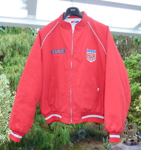 VINTAGE DAN GURNEY, EAGLE CARS, AAR ALL AMERICAN RACERS ,PUFFER JACKET, SIZE XL