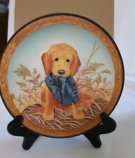Vintage 1996 Field Pup Follies 3D Hat Check Plate #2 by Bradford Exchange.