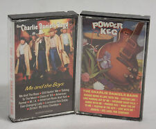 2 Cassette Lot - The Charlie Daniels Band : Powder Keg 1987 & Me and the Boys 85