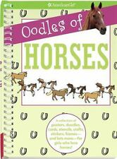 Oodles of Horses: A Collection of Posters, Doodles, Cards, Stencils, Crafts, Sti