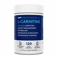 RSP Nutrition L-Carnitine Tartrate 500mg - 120 Capsules