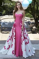 Janique by Kourosh W1376 Strapless Floral Panel Dress size 12
