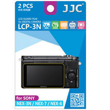 JJC LCP-3N hard polycarbonate LCD Film Screen Protector FOR Sony NEX3N NEX7 NEX6