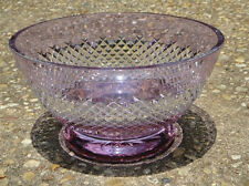 """Waterford 11"""" Alana  Lavender Centerpiece Footed Bowl  NIB"""