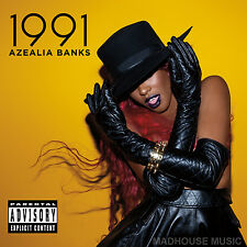 AZEALIA BANKS CD 212 SEALED 1991 - Van Vogue Liquorice w/ Lazy J USA New