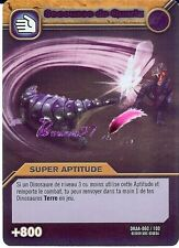 Carte DINOSAUR KING Attaque Alpha SECOUSSE DE QUARTZ DKAA 060/100