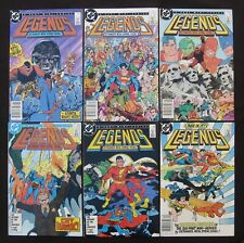 LEGENDS #1-6 Complete - 1st Suicide Squad & New Justice League - 9.0 VF/NM