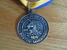 Rare 98th BOSTON MARATHON April 18 1994 FINISHER MEDAL Cosmas Ndeti Uta Pippig