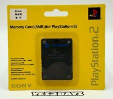 Genuine Sony PlayStation 2 Memory Card PS2 8MB ~ Sealed in Original Sony Blister